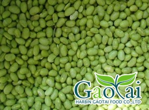IQF green soybean kernels